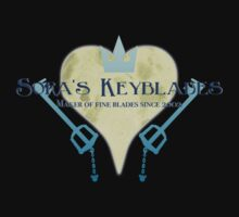 Sora's Keyblades by Konoko479