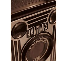 Vintage Hanimex Camera Photographic Print