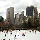 New York Skating by Kezzarama