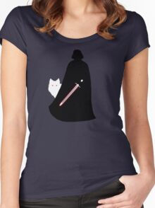 Darth Snow Women's Fitted Scoop T-Shirt