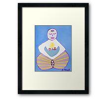 Fertility Goddess Framed Print