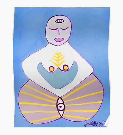 Fertility Goddess Poster