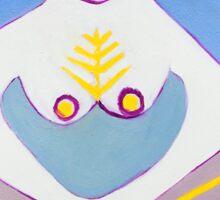 Fertility Goddess Sticker