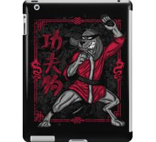 HKP, The Kung Fu Mutt! iPad Case/Skin