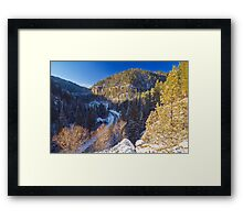 Above Eleventh Hour Framed Print
