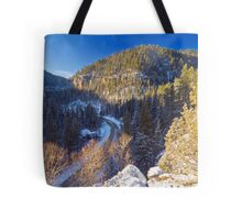 Above Eleventh Hour Tote Bag