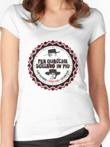 Per Qualche Dollaro In Più (For A Few Dollars More) Women's Fitted Scoop T-Shirt