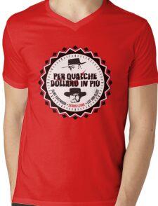 Per Qualche Dollaro In Più (For A Few Dollars More) Mens V-Neck T-Shirt