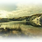 St Bathans Blue Lake -  New Zealand  by bekyimage