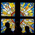 Stain Glass Spectators by John Conway