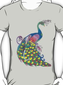 Rainbow Peacock T-Shirt
