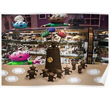 Alien Kid in a Candy Shoppe Poster