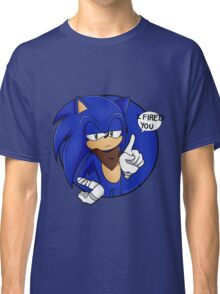 Sonic Boom - I Fired You Classic T-Shirt