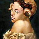 the Bacchante after Jean Leon Gerome by Hidemi Tada