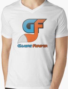 Gaming Furever Logo Mens V-Neck T-Shirt
