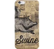 i dig on swine iPhone Case/Skin