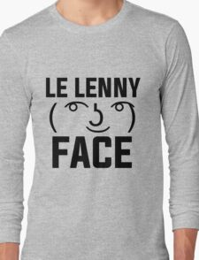 The Lenny Face Long Sleeve T-Shirt