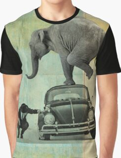 Looking for tiny, elephant on a vw Graphic T-Shirt