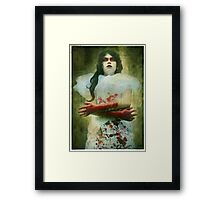 Lady Macbeth's Insanity Framed Print