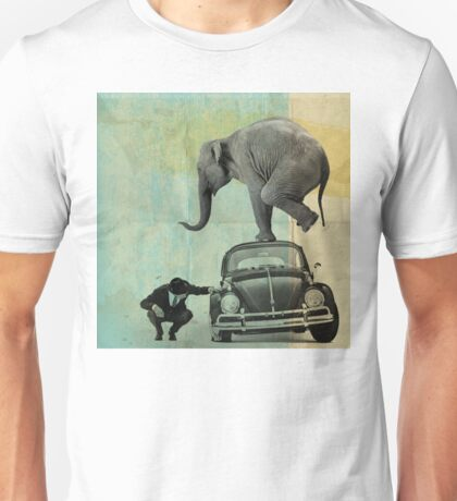 Looking for tiny, elephant on a vw T-Shirt