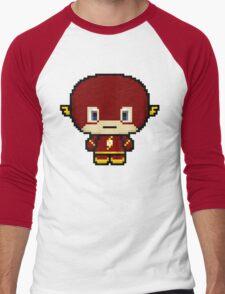 Chibit Barry Men's Baseball ¾ T-Shirt