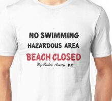 NO SWIMMING Unisex T-Shirt