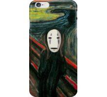 The Spirited Scream iPhone Case/Skin