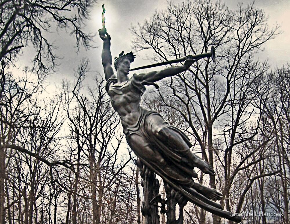 Angel Spirit Triumphant by Jane Neill-Hancock