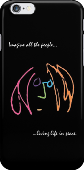Imagine iPhone case by Brian Varcas