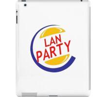 LAN Partyyyyy iPad Case/Skin