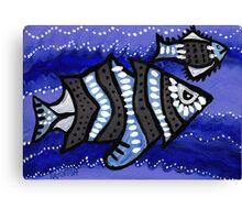 Tribal Fish  Canvas Print