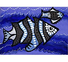 Tribal Fish  Photographic Print