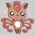Chibi Vulpix! by kitschoctopus