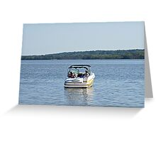 Fun Day on the Potomac River !  Greeting Card