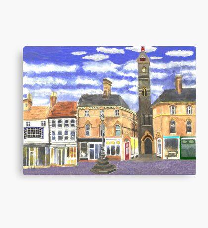 Louth Clock Tower Lincs. Canvas Print