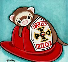 Fire Chief by Shelly  Mundel