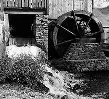 Pennsylvania Waterwheel by Henri Bersoux
