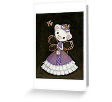 Steampunk Princess Greeting Card