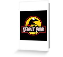 Kermit Park Greeting Card