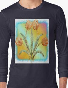 Colourful Tulips Long Sleeve T-Shirt