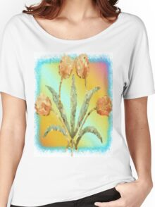 Colourful Tulips Women's Relaxed Fit T-Shirt