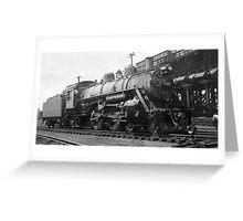 Steam Engine 1433 Greeting Card