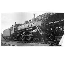 Steam Engine 1433 Poster