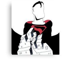 Superman Kingdom Come Canvas Print