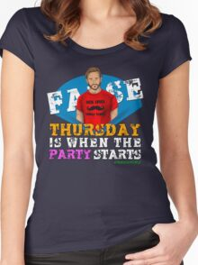 Thursday People Women's Fitted Scoop T-Shirt