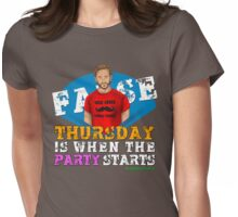 Thursday People Womens Fitted T-Shirt