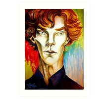 Sherlock: A Study in Colour Art Print