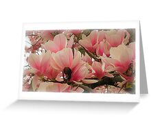 If we could see the miracle of a single flower clearly..... Greeting Card