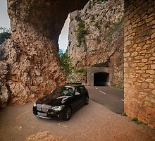 BMW 1 at Gorges du Verdon, Southern France by mchoihk