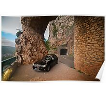 BMW 1 at Gorges du Verdon, Southern France Poster